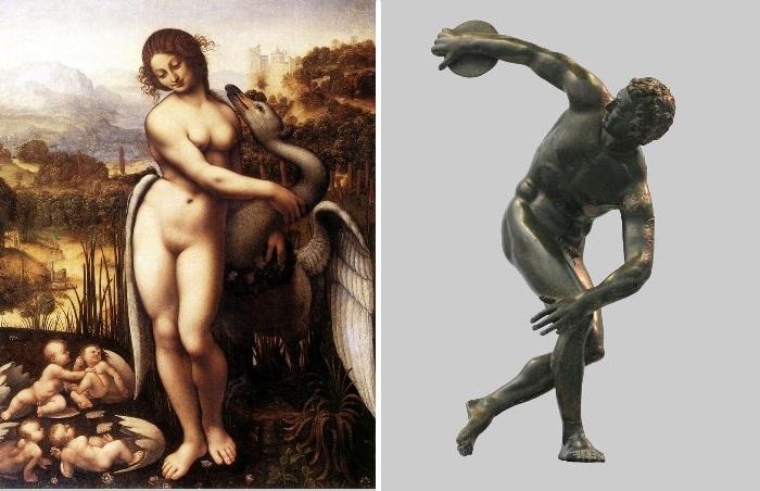 В чем же секрет красоты старых картин и скульптур.