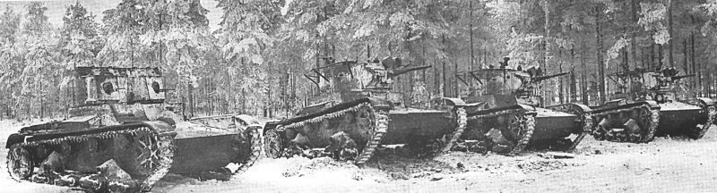 Сражение, которого не было Виккерс, Танк Т-26, танк FT-17